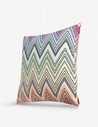 MISSONI HOME: Kew chevron cushion 60x60cm