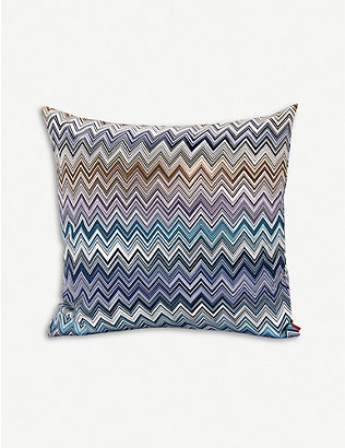 MISSONI HOME: Jarris patterned cushion 40cm x 40cm