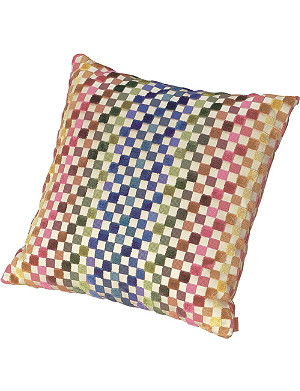 MISSONI HOME Maseko check cushion 40x40