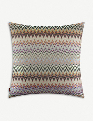 MISSONI HOME Masuleh patterned cushion 60x60cm