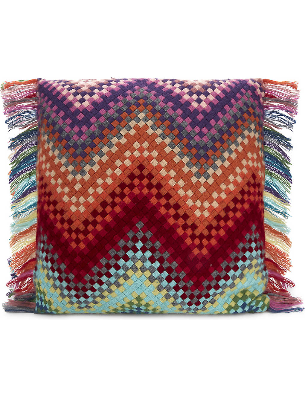 MISSONI HOME: Sandra wool cushion