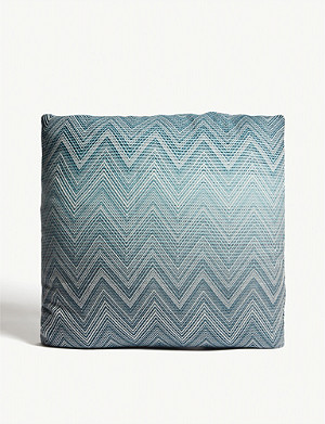 MISSONI HOME Timmy zigzag wool cushion 50x50cm