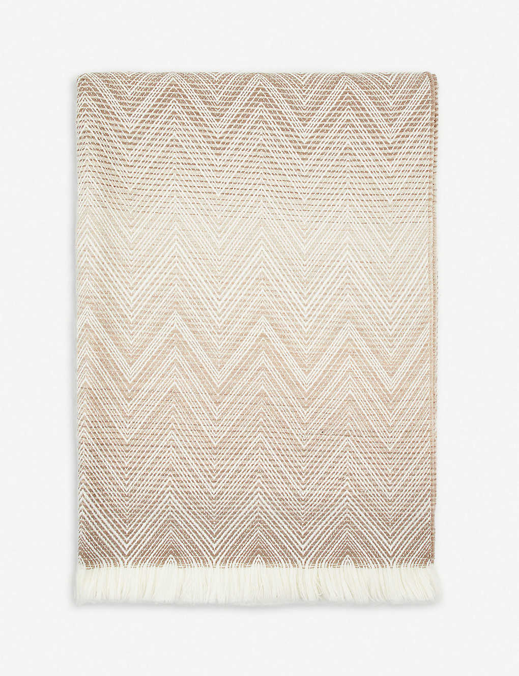 MISSONI HOME: Timmy lambswool throw 190cm x 130cm