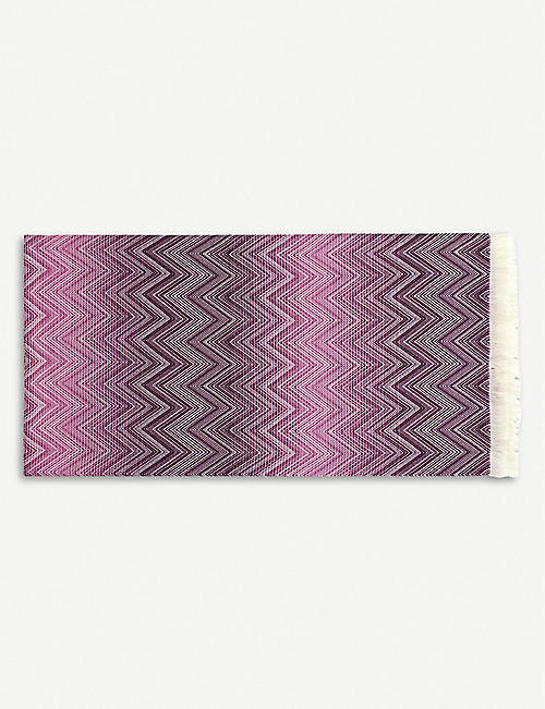 MISSONI HOME: Timmy crochet-knit merino wool throw 130cm x 190cm