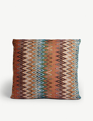 MISSONI HOME Vitim zig-zag stripe cushion 60x60cm