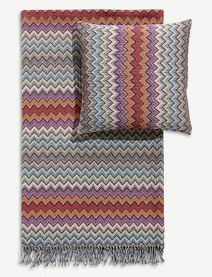 MISSONI HOME William jacquard throw 145cm x 190cm