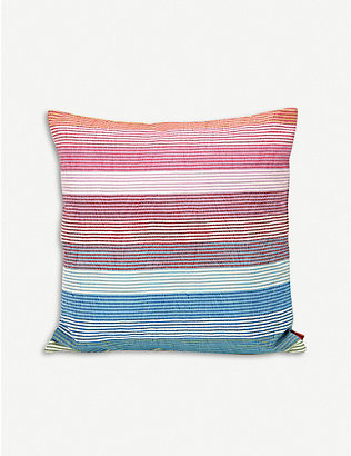 MISSONI HOME: Wiler striped cushion 40cm x 40cm