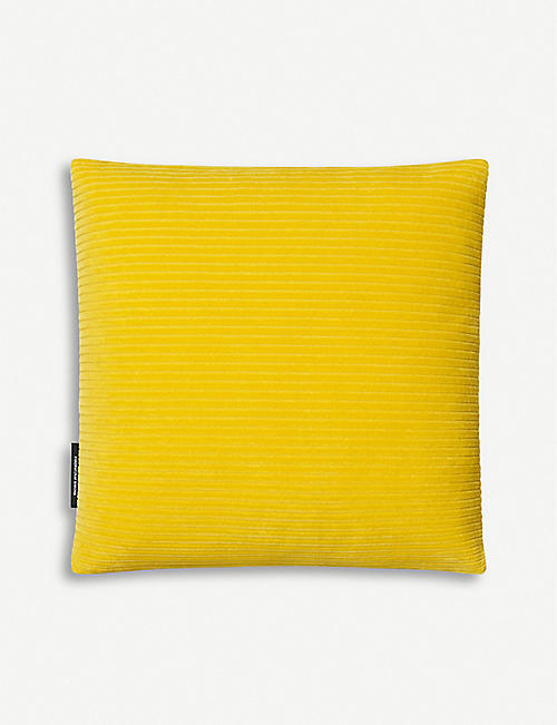 KVADRAT: Raf Simons Phlox cotton-blend corduroy cushion 45x45cm