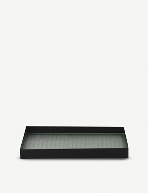 FERM LIVING Haze metal tray 33x34cm