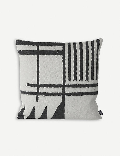 FERM LIVING Klim wool-blend cushion 50x50cm