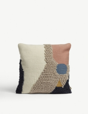 FERM LIVING Loop knit wool cushion