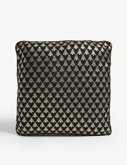 FERM LIVING Fly print cushion