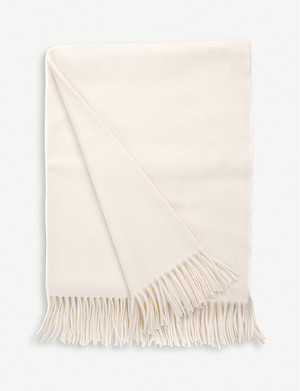 BEGG & CO. Arran cashmere throw 147cm x 184cm