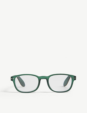 IZIPIZI #B Reading square-frame glasses