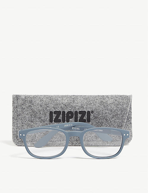 IZIPIZI #B Reading rectangle-frame glasses +2.5