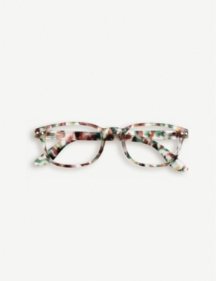 IZIPIZI #B tortoiseshell reading glasses +1.00
