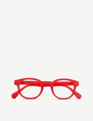 IZIPIZI #C Reading round-frame reading glasses +1.5