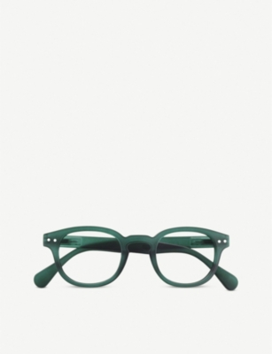 IZIPIZI #C Reading round-frame reading glasses +3