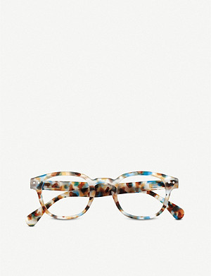 IZIPIZI #C Reading square-frame glasses +2