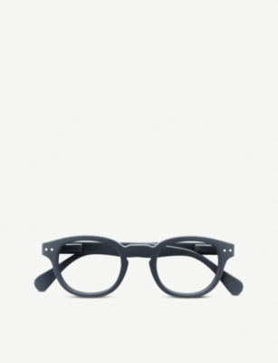 IZIPIZI #C Reading square-frame glasses +1