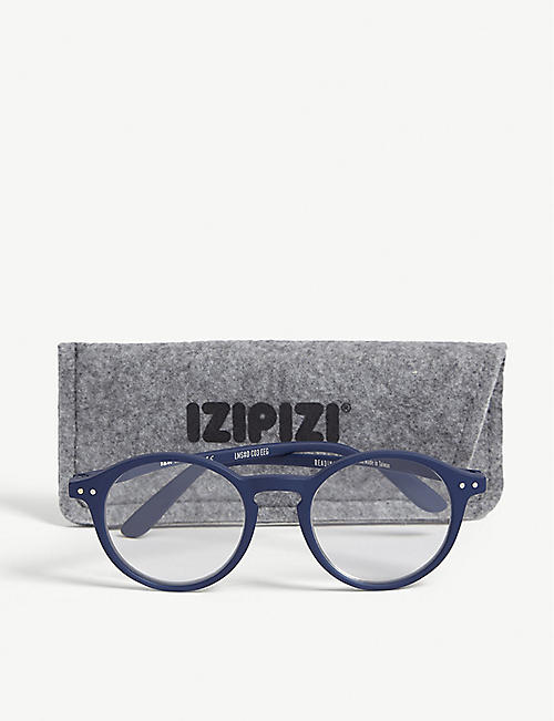 IZIPIZI #D Reading round-frame glasses +2.5
