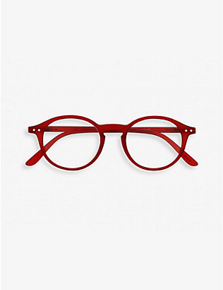 IZIPIZI: Letmesee #D round-frame reading glasses +1.50