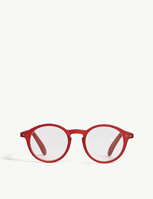 IZIPIZI #D Reading square-frame glasses +2.5