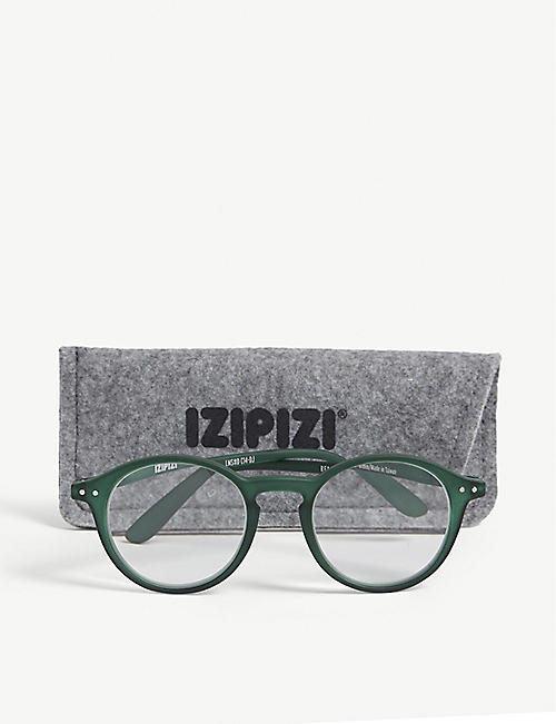 IZIPIZI #D Reading square-frame glasses +3
