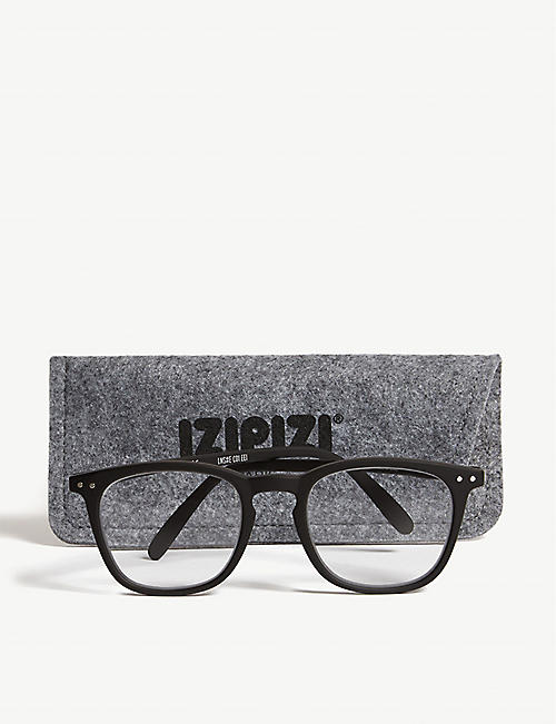 IZIPIZI #E wayfarer reading glasses +1.00