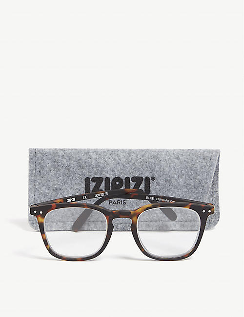 IZIPIZI #E Reading square-frame glasses +1