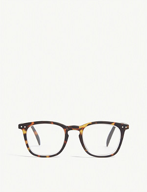 IZIPIZI #E Reading square-frame glasses +1.5
