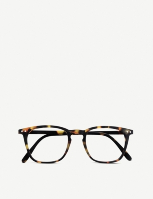 IZIPIZI #E Reading square-frame glasses +3