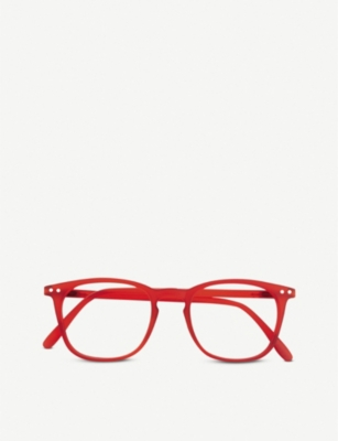 IZIPIZI #E Reading square-frame glasses +2.5