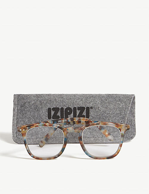 IZIPIZI #E Reading acetate glasses +1.5