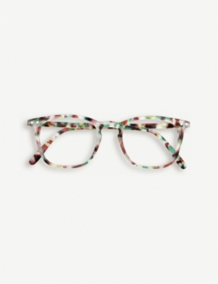 IZIPIZI #E tortoiseshell reading glasses +1.00