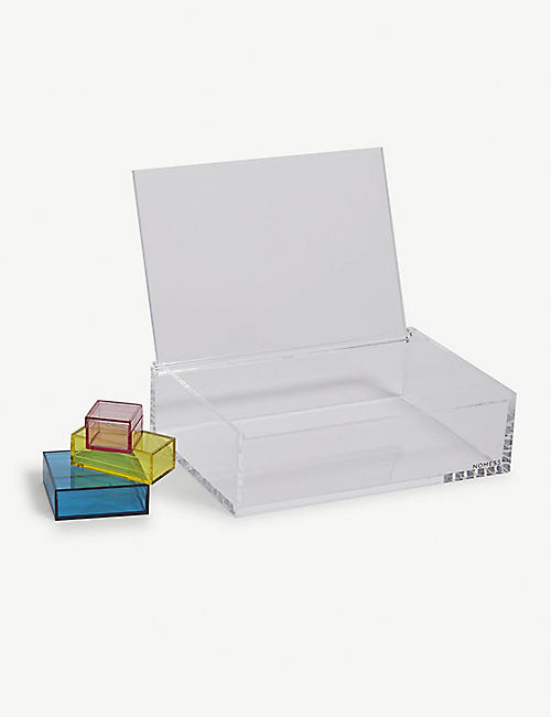 NOMESS Clear jewellery box