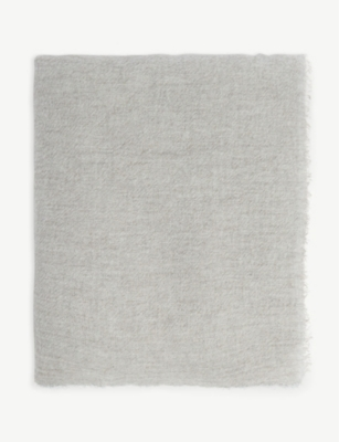 OYUNA Recycled cashmere throw
