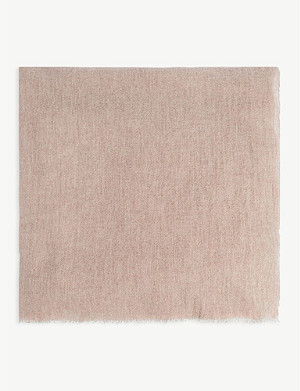 OYUNA Recled cashmere throw