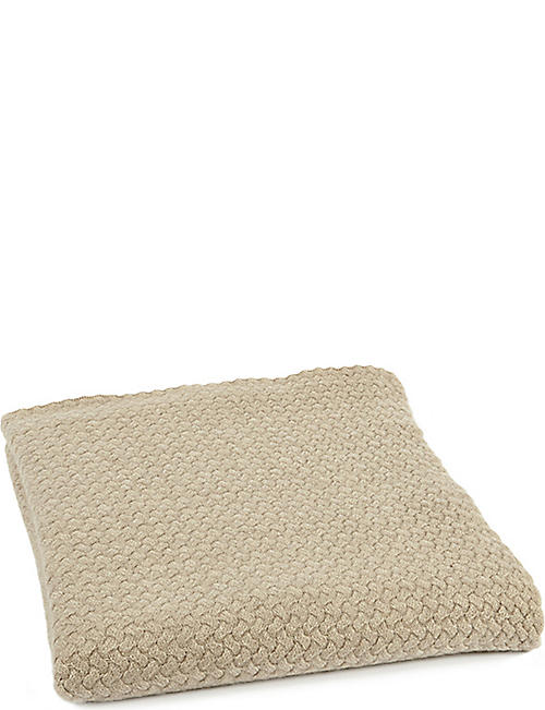OYUNA Scala cashmere throw