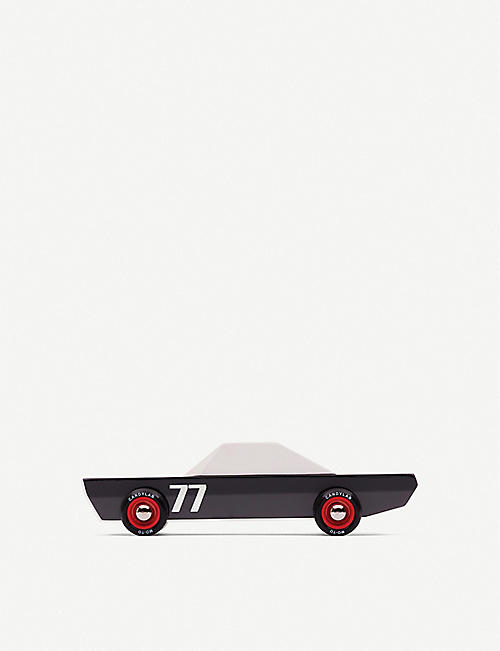 CANDYLAB Carbon 77 wooden toy car 18.3cm