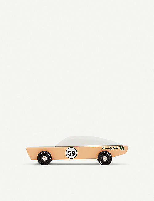 CANDYLAB Ace wooden toy car 18.6cm