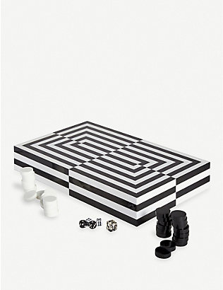 JONATHAN ADLER: Op Art backgammon set