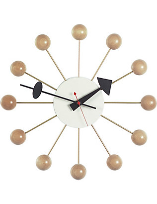 VITRA: Ball wood clock