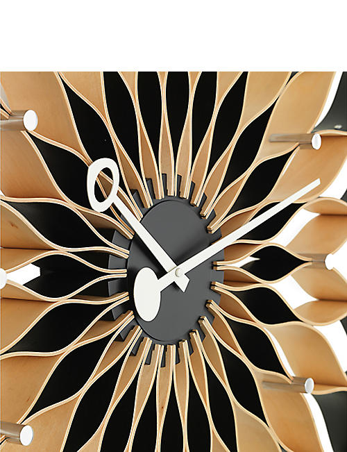 VITRA George Nelson sunflower birch wall clock