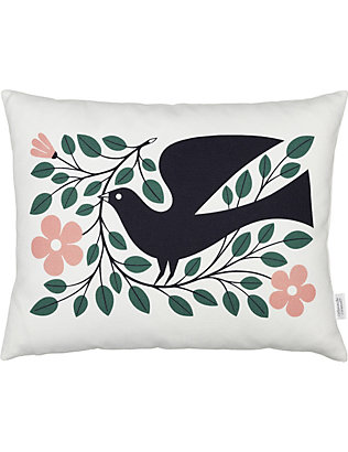 VITRA: Dove graphic printed pillow