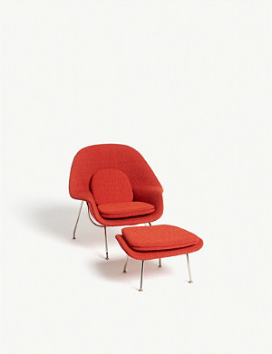 VITRA Miniatures Collection Womb chair and ottoman