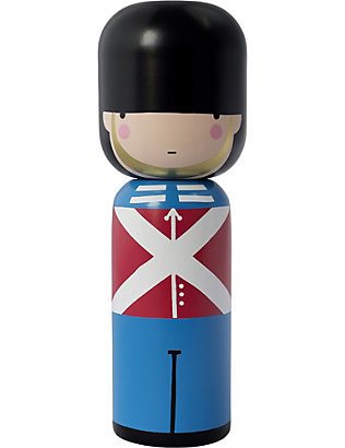 LUCIE KAAS: Sketch Inc Queen's Guard wooden kokeshi doll