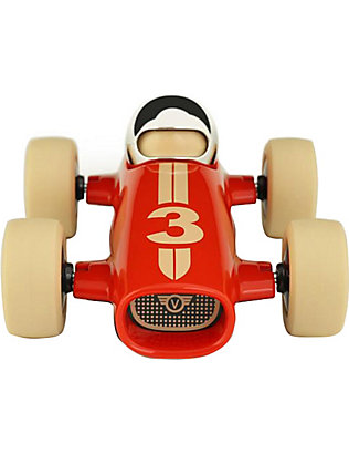 PLAYFOREVER: Malibu Benjamin race car toy