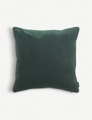 LOUISE ROE Velvet cushion cover 50x50cm