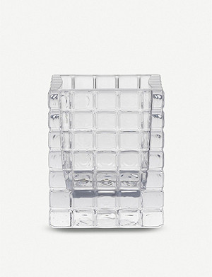LOUISE ROE City Light 2 glass vase 10.5cm
